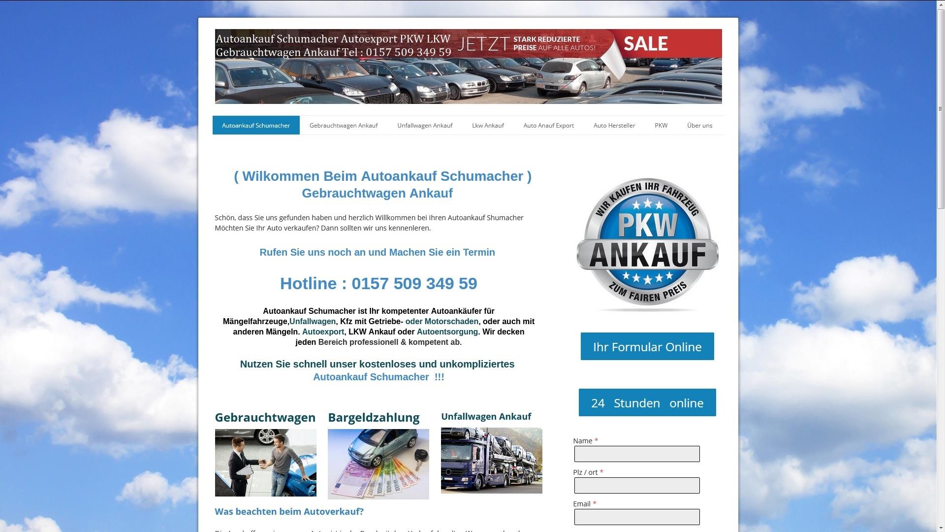 https://www.autoankauf-schumacher.de - Autoankauf Rastatt